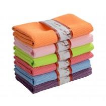 Set of 6 High-quality Magical Dishcloths Kitchen Home Dishrag,Six Colors