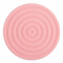 Set of 4 Pink Nonslip Healthy Material Place Mats Insulation Mats Pads