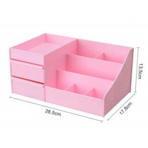 Lovely Pink Desktop Storage Boxes/ Multipurpose Storage Carbinet