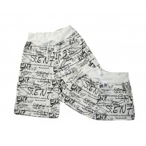 Set Of Two Comfortable Loose Pajamas/Athletics Shorts