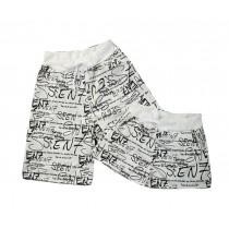 Set Of Two Comfortable Loose Pajamas/Athletics Shorts