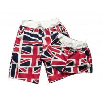Set Of Two Fashionable Couple Beach Pants/Home Shorts/Athletics Shorts