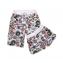 Set Of Two High-quality Couple Beach Pants/Athletics Shorts