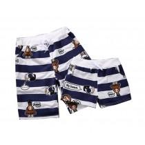 Set Of Two Summer Cute Cartoon Cotton Gym Pants/Athletics Shorts