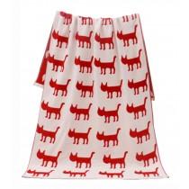 Lovely Dogs Pattern Lightweight Absorbent Sport Towel Bath Towels Blanket