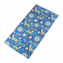 Lovely Outdoor Cycling Scarves Boys Girls Adults Sports Neckerchief Deer Pattern