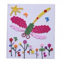 Beautiful Parental Stickers/Dragonfly Pattern Style Puzzle