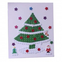 Christmas Tree Pattern Style Parental Stickers/Parent-child Entertainment