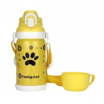 Travel/Outdoor Portable Kids Vacuum Cup with Straw 600 ML