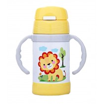 Stainless Steel 280 ML Baby Kids Straw Vacuum Cup