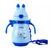 Stainless Steel Infant Baby Straw Vacuum Cup Insulated Bottle 260 ML
