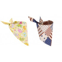 Unisex Bandana Bib Drool Bib Multi-Functional Triangle