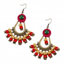 Retro Style Bohemia Earrings for Girls and Women, 2 Pairs