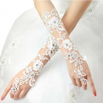 Pretty Lace Women Wedding/Party Gloves Bride Wedding Party Costume