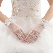 Lace Bridal Gloves Wedding Accessory Elegant Gloves for Women