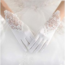Elegant White Women Wedding/Party Gloves Bridal Gloves