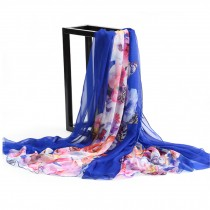 Silk Feeling Scarf  Lightweight Sunscreen Shawls for Women