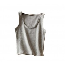 Soft Cotton Women Summer Camisole Short Vest