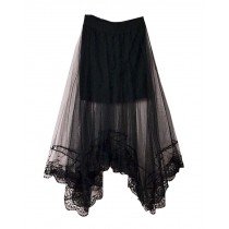 Fashion Women Summer Lace Skirt Beach Skirt One Size