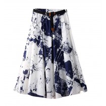 Chinese Style Summer Women Skirt Women Dress
