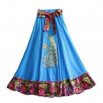 Fashion Summer High Waist Skirt for Women Beach Skirt