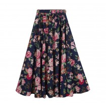 Summer Beach Women Skirt Daily Wearing Skirt