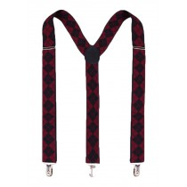 Unisex Braces Clip Suspenders Adjustable Elastic Shoulder Strap