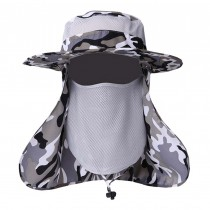 Useful Summer Men Sports Hat with Neck Protection