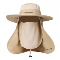 Khaki Men's Summer Sun Proof Hat Fishing Bucket Hat