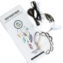 White DIY Dream Catcher Craft Kit Meaningful Christmas Gifts Hanging Ornaments