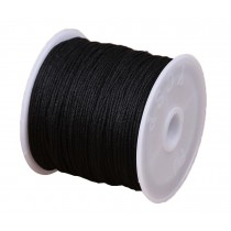 Cord Beading Thread String for Beading - Black