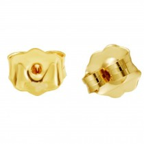 Gold Color Earring Backs Set of 2 Earring Nuts