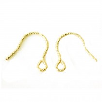 14 K Earring Hooks Nice Earrings Supplies 1 Pair