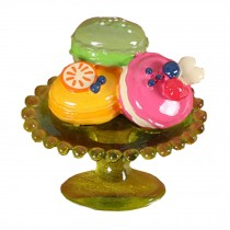 Tri-color Fruit Plate Refrigerator Magnets Nice Gift for Mom and Friends