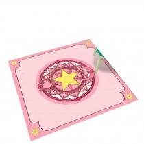 Square Cute Cartoon Children's Rugs, Milky Magic Circle