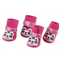Teddy/Poodle Cute Socks Pink Socks for Small Dogs