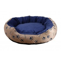 Removable Cozy and Warm Round Pet Beds - Blue