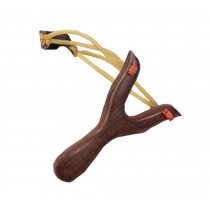 Sturdy Wood Kids Playing Slingshot Exercise Boy Catapult