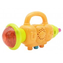 Kids Trumpet Instrument Toys Sounds and Lights