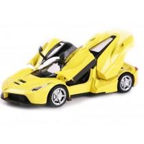 Children's gift children's toy car ornaments (yellow)