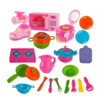 Plastic Baby Home Play House Toy Set Pretend Cookware Set