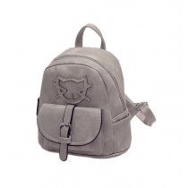 Lovely Cats Gray Toddler Backpack Kindergarten Bag Travel Kids Backpacks Purse