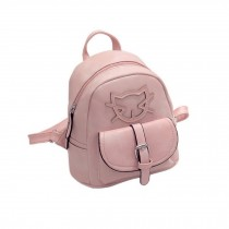 Lovely Cats Pink Toddler Backpack Kindergarten Bag Travel Kids Backpacks Purse