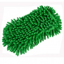 Sponge With Scrubber, Perfect For Car, Set Of 2, Green