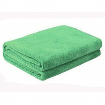 Multifunctional Microfiber Cleaning Cloths, Perfect For Car, Set of 3, Green