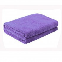 Multifunctional Microfiber Cleaning Cloths, Perfect For Car, Set of 3, Purple