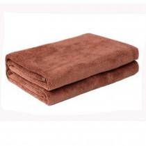 Multifunctional Microfiber Cleaning Cloths, Perfect For Car, Set of 3, Brown