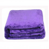 Big Multifunctional Microfiber Cleaning Cloths, Set of 2, Purple, 70*140 CM