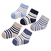 Wear Durable kids Cotton Socks Heartwarming Baby Gifts 5 Pairs of Soft Socks Comfortable