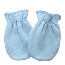 Warm Unisex-Baby Gloves Newborn Mittens Soft No Scratch Mittens, Blue
